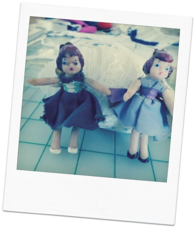Polaroid of Old Dolls before