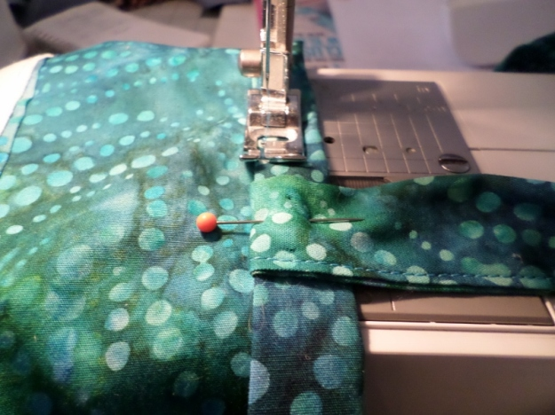 Sewing Strap to Tote